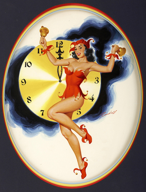 Make TMake Those New Year's Goals (art:Bill Randalph Midnight Hour)