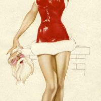 Give & Receive (Art: Alberto Vargas Holiday Cheer)