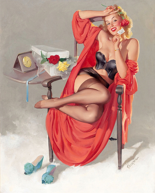 Pleasure (Art by Gil Elvgren